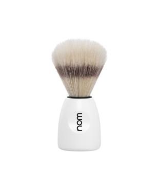 Nom Borste Bristle Shaving Brush Skutimosi šepetėlis LASSE 41 WH, 1vnt. | inbeauty.lt