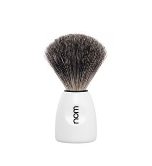 Nom Dachs Badger Shaving Brush Skutimosi šepetėlis LASSE 81 WH, 1vnt. | inbeauty.lt
