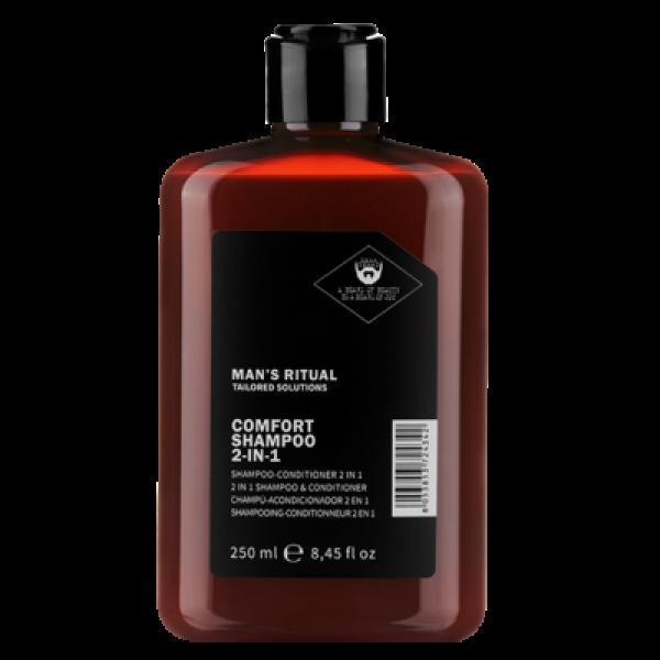 Man's Ritual Comfort Du viename šampūnas-kondicionierius, 250ml