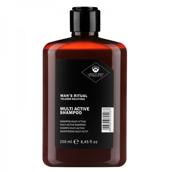 Man's Ritual Multi Active Švelnus valomasis šampūnas, 250ml