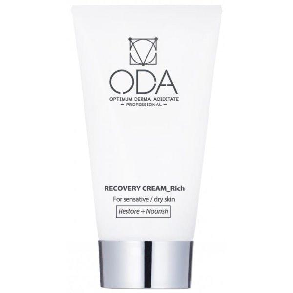 Recovery Cream For Sensitive/ Dry Skin Atkuriamasis kremas sausai/jautriai odai, 50 ml