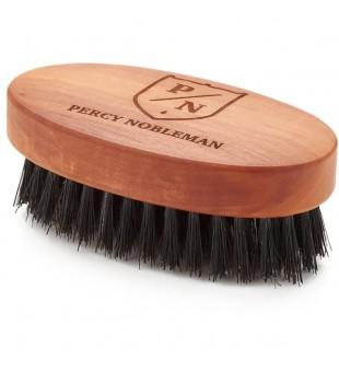 Percy Nobleman Beard Brush Šerno šerių barzdos šepetys, 1 vnt. | inbeauty.lt