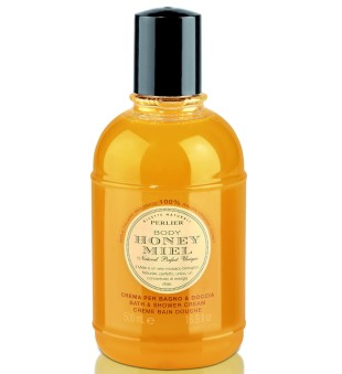 Perlier Honey Miel Bath & Shower Cream Kūno prausiklis su medumi, 1000ml | inbeauty.lt