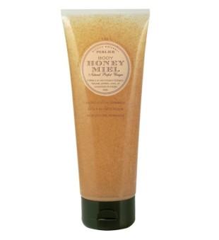 Perlier Honey Miel Bath & Shower Scrub Kūno šveitiklis su medumi, 250ml | inbeauty.lt