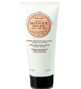 Perlier Honey Miel Soothing Hand Cream Rankų kremas su medumi, 100ml | inbeauty.lt