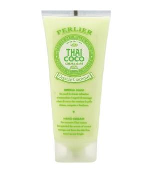 Perlier Thai Coco Hand Cream Rankų ir nagų kremas, 100ml | inbeauty.lt