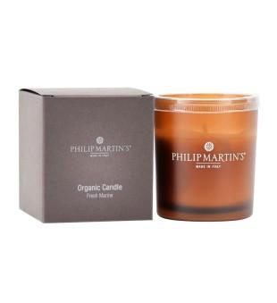 Philip Martin's Organic Candle Fresh Marine Aromaterapinė žvakė, 136g | inbeauty.lt