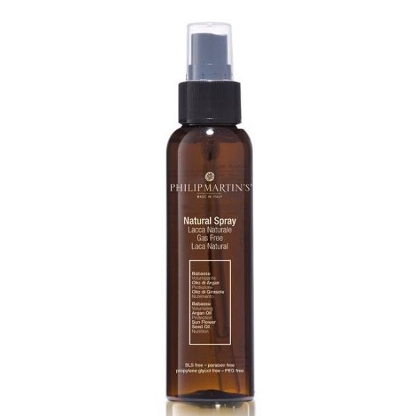 Natural Spray Stiprios fiksacijos plaukų lakas, 250 ml
