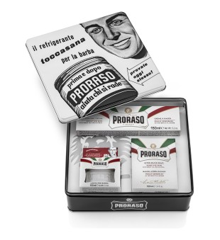 Proraso Toccasana Vintage Shaving Kit Vintažinis rinkinys skutimuisi, 1vnt. | inbeauty.lt