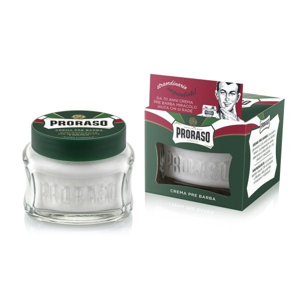 Green Line Pre-Shave Cream Gaivinantis kremas prieš skutimąsi, 100ml