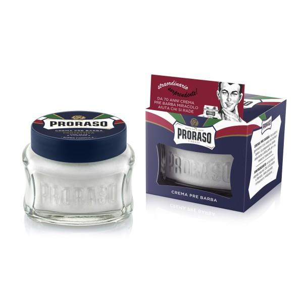 Blue Line Pre-Shave Cream Drėkinantis kremas prieš skutimąsi, 100ml