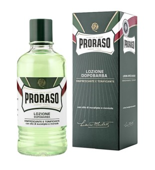 Proraso Green Line After Shave Lotion Gaivinantis losjonas po skutimosi, 400ml | inbeauty.lt