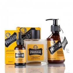 Barzdos priežiūros rinkinys Wood & Spice