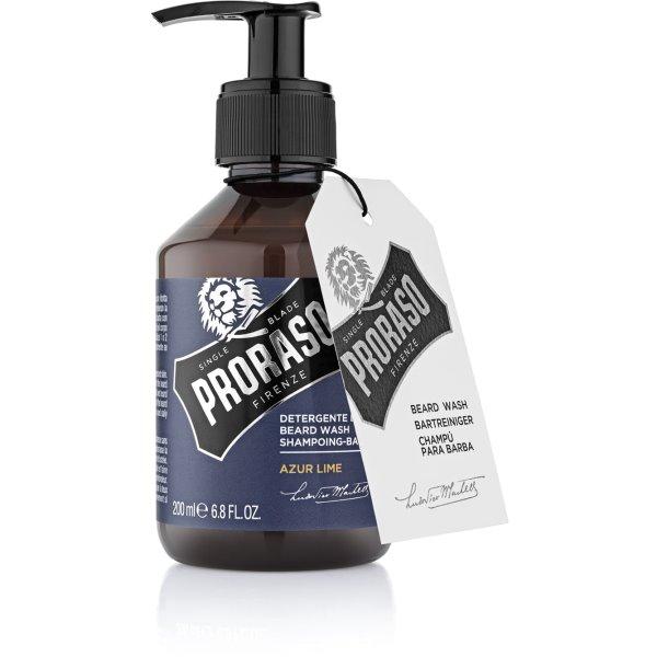 Azur Lime Beard Wash Barzdos šampūnas, 200 ml