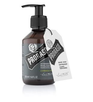 Proraso Cypress & Vetyver Beard Wash Barzdos šampūnas, 200 ml | inbeauty.lt