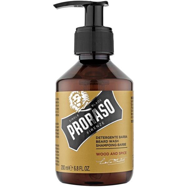 Wood & Spice Beard Wash Barzdos šampūnas, 200 ml