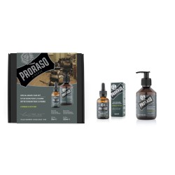 Duo Pack Cypress & Vetyver Beard Oil & Shampoo Barzdos priežiūros rinkinys, 1vnt