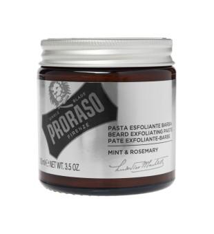 Proraso Beard Exfoliating Scrub Mėtų ir rozmarinų aromato barzdos šveitiklis, 100ml | inbeauty.lt