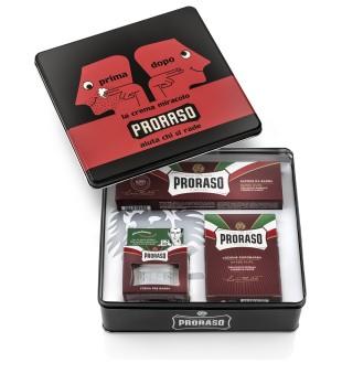 Proraso Primadopo Vintage Shaving Kit Vintažinis rinkinys skutimuisi, 1vnt. | inbeauty.lt