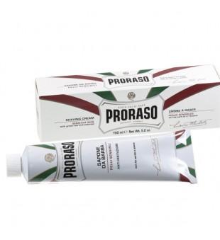 Proraso White Line Shaving Cream Raminantis skutimosi kremas jautriai odai, 150 ml | inbeauty.lt