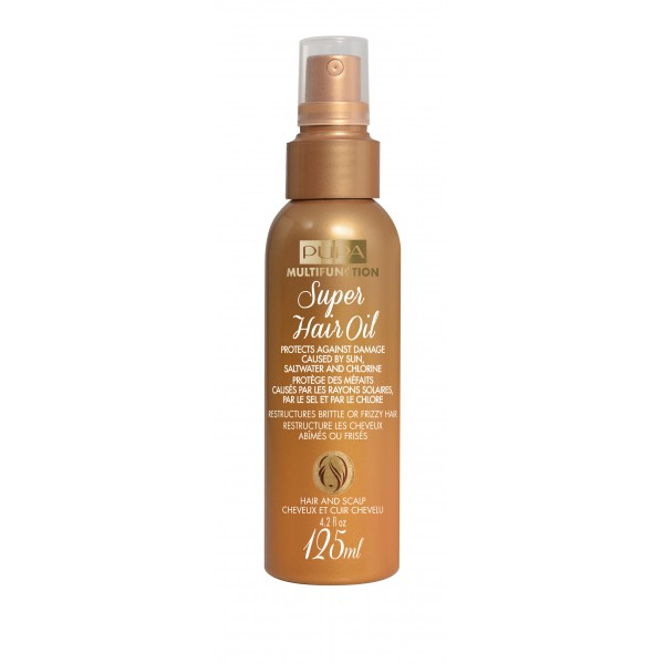 Super Hair Oil Apsauginė priemonė plaukams nuo karščio, 125ml