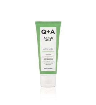 Q+A Apple AHA Exfoliating Gel Gelinis veido šveitiklis, 75ml | inbeauty.lt