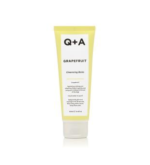 Q+A Grapefruit Cleansing Balm Valomasis veido balzamas, 125ml | inbeauty.lt