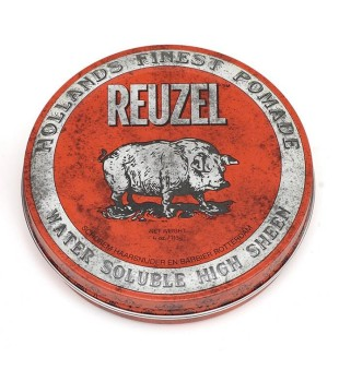 Reuzel Red Water Soluble High Sheen Pomade - Pomada plaukams, 340 g | inbeauty.lt