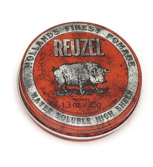 Reuzel Red Water Soluble High Sheen Pomade - Pomada plaukams, 35 g | inbeauty.lt