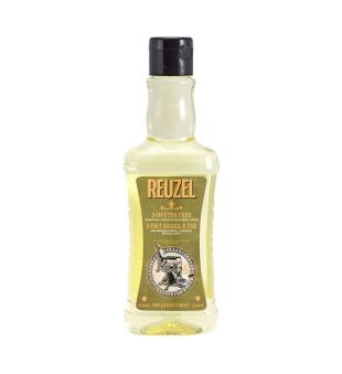 Reuzel 3in1 Tea Tree Shampoo, Conditioner & Body Wash Šampūnas, kondicionierius ir kūno prausiklis vyrams, 350ml | inbeauty.lt