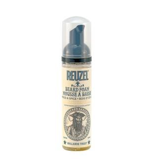 Reuzel Beard Foam Wood & Spice Kondicionuojančios barzdos putos, 70ml | inbeauty.lt