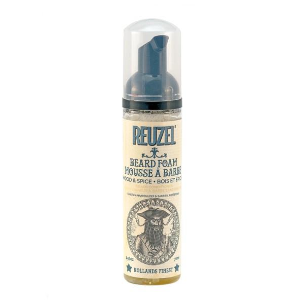 Beard Foam Wood & Spice Kondicionuojančios barzdos putos, 70ml