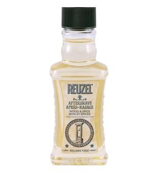 Reuzel Wood & Spice Aftershave Pikantiško medienos kvapo losjonas po skutimosi, 100ml | inbeauty.lt