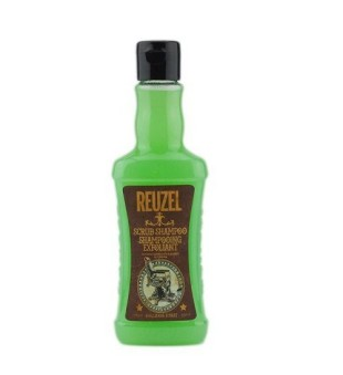 Reuzel Scrub Shampoo Stipriai plaunantis plaukų šampūnas vyrams, 350ml | inbeauty.lt