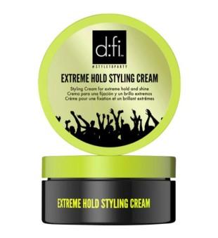 Revlon Professional D:fi Extreme Hold Styling Cream Stiprios fiksacijos plaukų formavimo kremas, 75g | inbeauty.lt