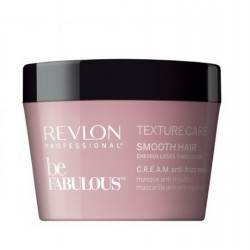 Be Fabulous Texture Care Smooth Hair Cream Anti-Frizz Mask Glotnumo suteikianti plaukų kaukė, 200ml