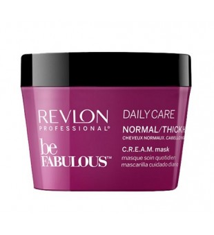 Revlon Professional Be Fabulous Daily Care Normal Hair Cream Mask Kaukė normaliems plaukams, 200ml | inbeauty.lt