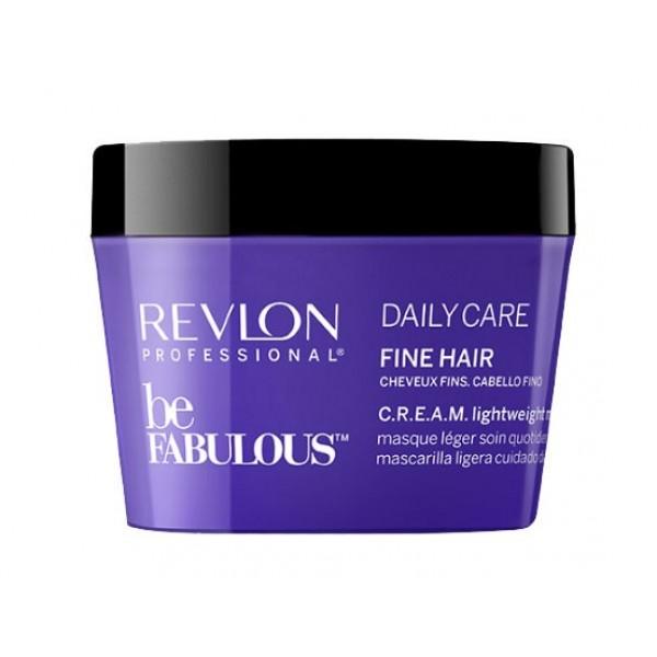 Be Fabulous Daily Care Fine Hair Cream Lightweight Mask Kaukė ploniems plaukams, 200ml