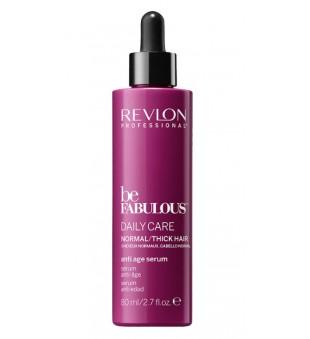 Revlon Professional Be Fabulous Daily Care Normal Hair Anti Age Serum Serumas, stabdantis plaukų senėjimo procesą, 80ml | inbeauty.lt