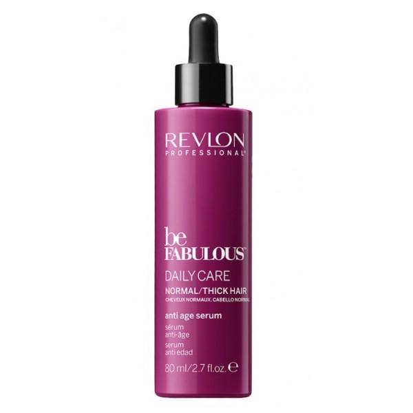 Be Fabulous Daily Care Normal Hair Anti Age Serum Serumas, stabdantis plaukų senėjimo procesą, 80ml