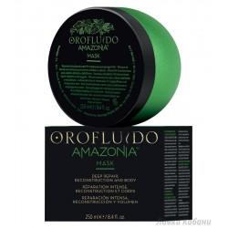 OROFLUIDO AMAZONIA Atstatomoji kaukė pažeistiems plaukams, 250ml