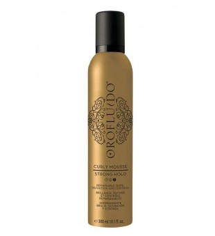 Revlon Professional Orofluido Curly Mousse Strong Hold Plaukų putos garbanoms formuoti, 300ml | inbeauty.lt