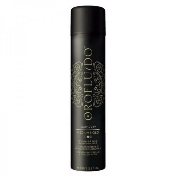Orofluido Hairspray Medium Hold Vidutinės fiksacijos plaukų lakas, 500ml