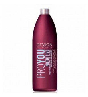 Revlon Professional Pro You Nutritive Moisturizing & Nourishing Shampoo Drėkinamasis šampūnas su kviečių baltymais, 1000ml | inbeauty.lt