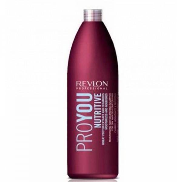 Pro You Nutritive Moisturizing & Nourishing Shampoo Drėkinamasis šampūnas su kviečių baltymais, 1000ml
