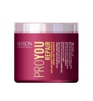 Revlon Professional Pro You Repair Color Protecting Treatment With Soya & Wheat Protein Kaukė pažeistiems plaukams su soja ir kviečių baltymais, 500ml | inbeauty.lt