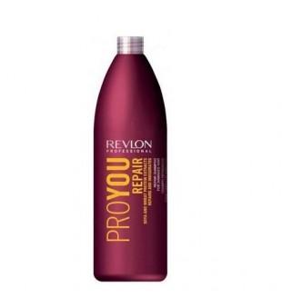 Revlon Professional Pro You Repair Shampoo With Soya & Wheat Protein Šampūnas pažeistiems plaukams su soja ir kviečių baltymais, 1000ml | inbeauty.lt