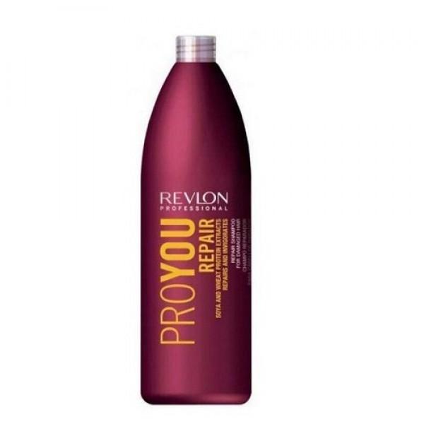 Pro You Repair Shampoo With Soya & Wheat Protein Šampūnas pažeistiems plaukams su soja ir kviečių baltymais, 1000ml