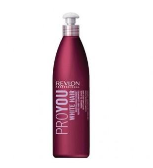 Revlon Professional Pro You White Hair Shampoo Šampūnas šviesintiems ir žiliems plaukams, 350ml | inbeauty.lt
