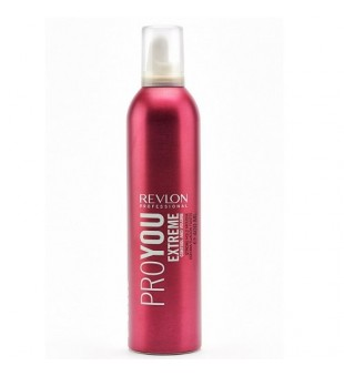 Revlon Professional Pro You Extreme Strong Hold Mousse Stiprios fiksacijos plaukų putos, 400ml | inbeauty.lt